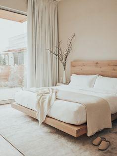 Room Ideas Bedroom, Small Room Bedroom, Dream Bedroom, Home Decor Bedroom, Small Rooms, Spa Bedroom, Serene Bedroom, Wooden Bedroom, Bohemian Bedroom Decor