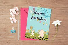 Birthday por CuteLittleWorkshop en Etsy