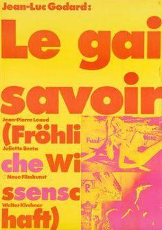 La gaya ciencia (1969) Francia. Dir.: Jean-Luc Godard. Drama. Cine dentro do cine - DVD CINE 1989-I