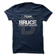 BRUCE - TEAM BRUCE LIFE TIME MEMBER LEGEND  - cheap t shirts #retro t shirts #tee test