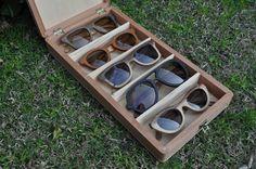 Gafas de madera artesanales