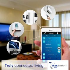 Control your home from the comfort of your mobile device.  Find out more: albasmart.com