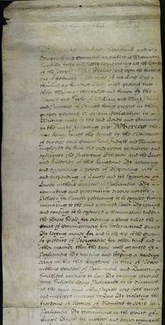 Bill of rights 1689 (1st part)