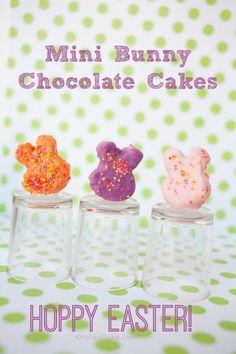 Mini Bunny Chocolate Cakes