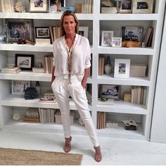 India Hicks-white out.Sophisticated in character and style! #SOAKUSA