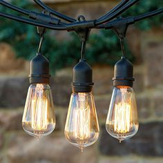 Edison Bulb Outdoor String Lights Vintage edison bulb outdoor string lights outdoor string lighting brightech ambience pro vintage edition with weathertite technology outdoor weatherproof commercial grade string lights with included edison bulbs workwithnaturefo