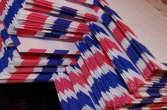 Set of 12 Air Mail Par Avion Travel Envelopes by BeckyCharms, $4.00