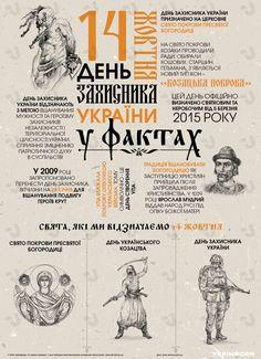 День захисника України у фактах. Інфографіка - 13.10.2016 17:33 — Новини Укрінформ