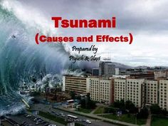"""The given presentation is prepared on """"TSUNAMI"""" to assist teachers in their environment or earth science lession. Though word 'TSUNAMI' is not new for all but at primary and elementary level, the kids should get familiarized with such kind of disasters with some basic idea."""