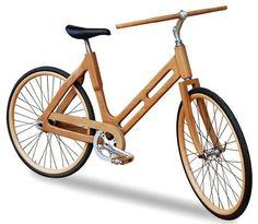 La Pliniocicletta, la bicicletta in legno di Plinio il Giovane