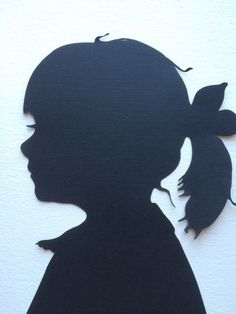 Commemorate your love for your children with a custom silhouette art. Each piece is cut by hand and made to order, capturing the details of your loved one's profile with beauty and accuracy. The artis
