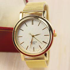 Gold Watch for Women Dress Watches Quartz Watch
