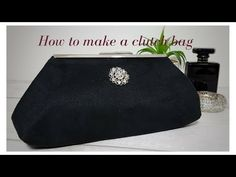 How to Make a Clutch Bag Diy Clutch, Clutch Purse, Frame Purse, Wedding Purse, Silk Painting, New Trends, Ganchillo Ideas, Classic Style, Printing On Fabric