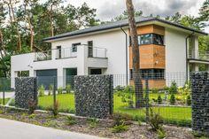 #gabion #ogrodzenie #architektura #modnydom #dom #ogród