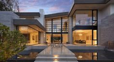 McClean Design completed the San Vicente House in California.