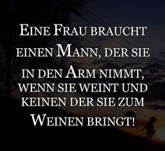 EINE FRAU BRAUCHT EINEN MANN...