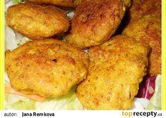 Celerovo-kuřecí placičky recept - TopRecepty.cz