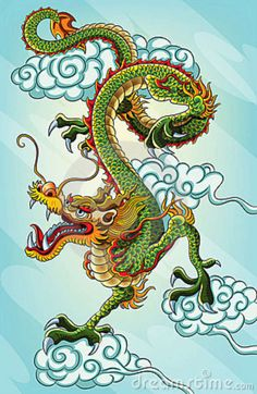 Pictures of chines drangons | Chinese dragon painting for your chinese new year 2012 celebration ...
