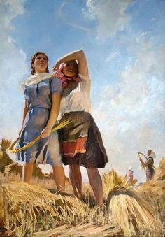 "Malaev Fedor ""flying airplanes"". 1950"