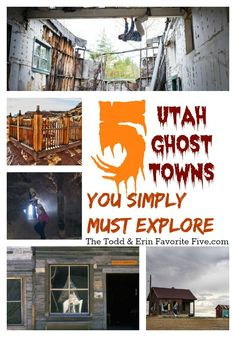 5 utah ghost towns you simply must explore