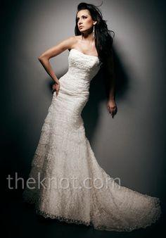 Tony Bowls Bridal Wedding Dresses Photos on WeddingWire Wedding Dress With Veil, Luxury Wedding Dress, Wedding Dresses Photos, Bridal Wedding Dresses, Wedding Dress Styles, One Shoulder Wedding Dress, Bridal Style, Mon Cheri Bridal, Gown Gallery