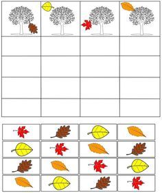 cheznounoucricri - Page 89 Fall Preschool Activities, Montessori Activities, Preschool Learning, Kindergarten Worksheets, Preschool Crafts, Toddler Activities, Fall Arts And Crafts, Autumn Crafts, Childhood Education