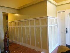 Creative Chaos: DIY Wall Paneled Wainscot/ Board and Batten Tutorial