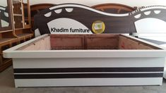 Bed Headboard Design, Bedroom Furniture Design, Headboards For Beds, Bed Furniture, Bed Design, Cot, Storage Chest, Cabinet, Home Decor