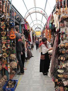 Mercado en Quito, Ecuador