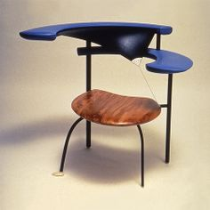 Blue Chair, In the collections of La musee des arts decoritif, Paris and Vitra Design Museum, Basel. (photography RCA)