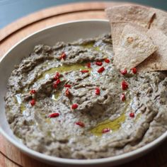 Amazing creamy and tangy baba ghanoush!