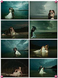 gorgeous trash the dress shoot. I'm doing this!!