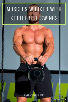 Kettlebell swings are a dynamic and effective exercise. Discover what muscles kettlebell swings work and why you should include them in your workout - QandA Fitness - #fitness #exercise #kettlebell #workout