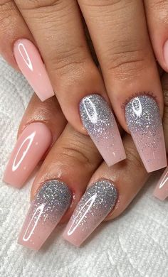 Cute and Beauty Ombre Nail Design ideas for This Year 2019 Part ombre nails french; Ombre Nail Designs, Cute Nail Designs, Acrylic Nail Designs, Blue Ombre Nails, Pink Nails, Ombre Nail Art, Oxblood Nails, Nails Turquoise, Color Nails