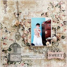 Blue Fern Studios  DT work  ~sweet~ - Scrapbook.com