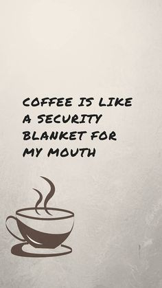 #coffee #quote // Co