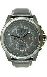 Tommy Hilfiger Leather Black Dial Men's Watch #1710295 Tommy Hilfiger. $116.95. Save 25%!