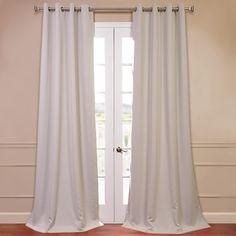 Half Price Drapes Grommet Plush Blackout Curtain Panels & Reviews | Wayfair