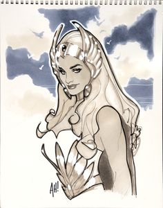 She-Ra by ~AdamHughes on deviantART (One of the first superheroines I thought I could be)