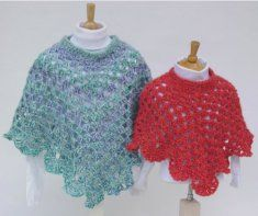 Martha's Coming Home Poncho pattern by Maggie Weldon Crochet Baby Poncho, Crochet Cape, Crochet Poncho Patterns, Crochet Girls, Crochet For Kids, Crochet Shawl, Free Crochet, Knit Crochet, Crochet Collar