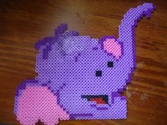 Winnie Lumpy hama beads by IreneKawaii on deviantart