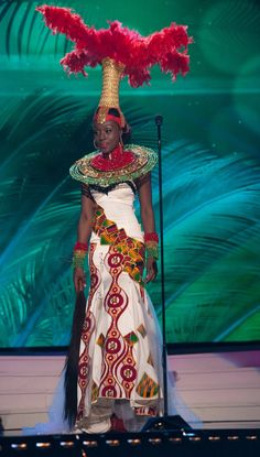 Miss Universe National Costumes 2015  Ghana