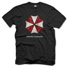 Camiseta Umbrella Corporation de Resident Evil.