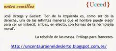 Ortega y Gasset, La rebelión de las masas