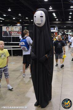 No face! Check out Wizard World Ohio Comic Con Sep 20-22, 2013!! Click http://www.wizardworld.com/home-ohio.html