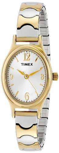 Women's Wrist Watches - Timex Womens T26301 Elevated Classics TwoTone Expansion Band Watch *** Read more reviews of the product by visiting the link on the image.
