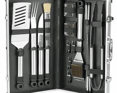 For Michael. A grilling kit of any kind with a case. His has about had it.