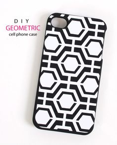 Use Silhouette Premium Vinyl and this week's FREE shape to update your cell phone case