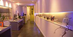 Agencement du magasin de l'Opticien Ocbo à Marseille #agencement #magasin #architecture #décoration
