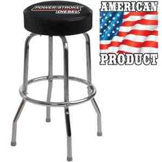 Bar Stool with Custom Logo and Swivel Seat